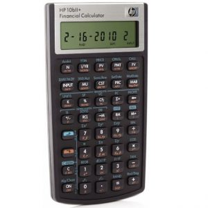 Calculadora financeira HP 10bII+