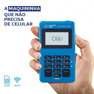 Point Mini chip do Mercado Pago com o menor preço do mercado