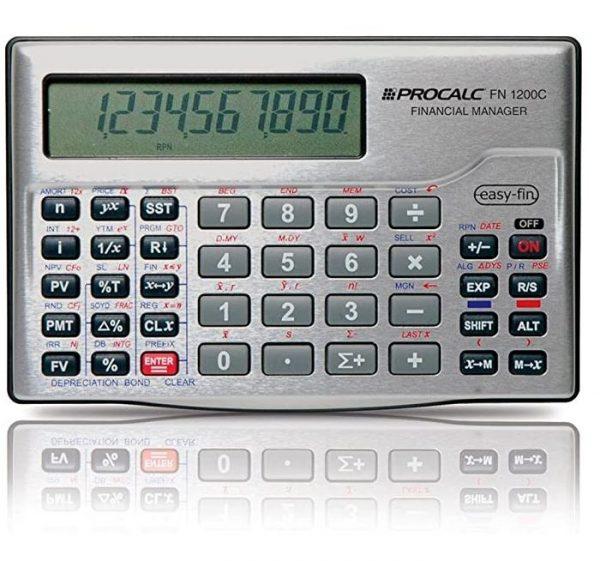 Calculadora financeira procalc fn 1200c