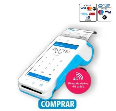 Comprar maquininha de cartão Point Smart Mercado Pago